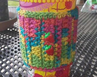 Cozy, Crochet, Coffee Cup