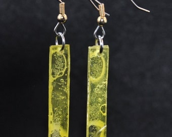 """Earrings size stick """"translucent colors"""" series"""