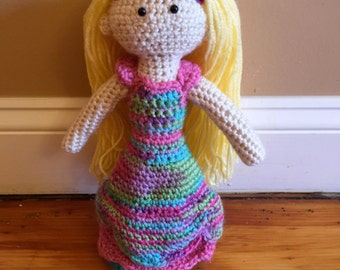 Crocheted Princess Doll