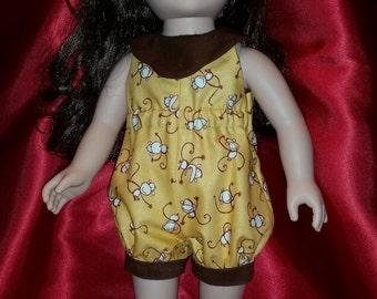 """18"""" Doll Monkey Outfit"""