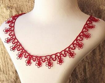 Turkish OYA Lace - Necklace - Lace  *7 colors