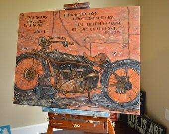 """22x28 Painting """"Virtus"""" By Sheree Krause"""