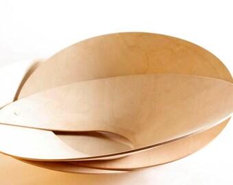 Laso ply wood fruit bowl