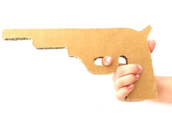 6 Cardboard Guns