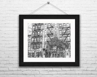 New York City Print,New York Print Decor, New York Wall Print, New York Print, New York Drawing, New York Skyline, New York Poster,  Artwork