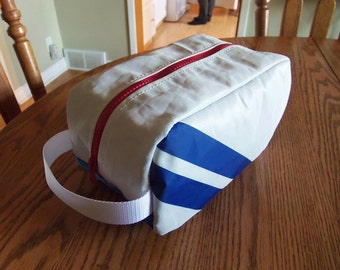 Toiletry Bag - Recycled Sail Cloth