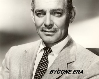 Clark Gable Hollywood Poster Art Photo 11x14