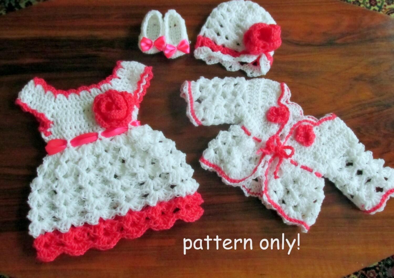 Infant dress pattern crochet pattern hat kids crochet pattern zoom bankloansurffo Images