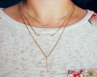 Multilayer Pearl Necklace - 12 styles