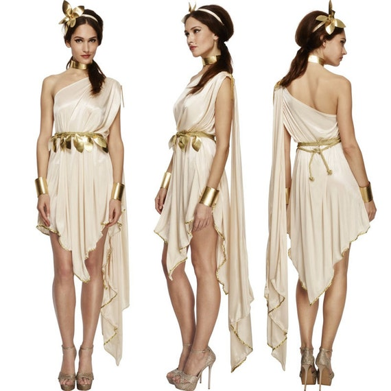 Fever Goddess Costume Prom Dress Classic Roman & by ...