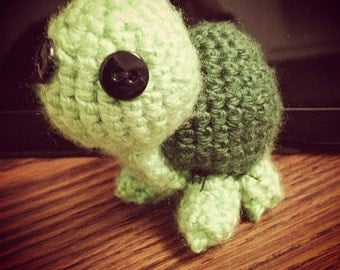 Crocheted Turtle Plushie