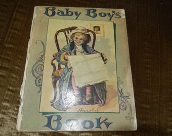 BABY BOYS BOOK By Harold