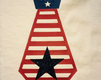 4th of July Tie Tee