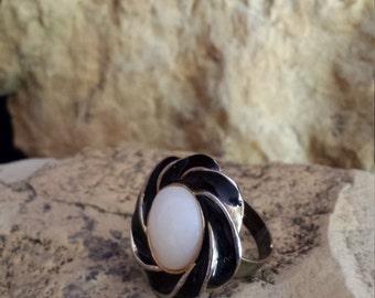 Alida Ring adjustable vintage