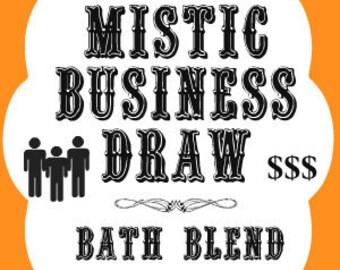 Mistic Busines Draw Southern Folk Magic Bath Salt, Hoodoo Business Draw Bath Salt, Voodoo Business Draw Bath Salts, Business Draw Bath Blend