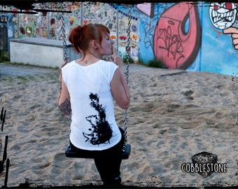 """Raglan T-shirt """"rats"""" fair trade & organic"""