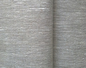 New Decorative 100% Eco Natural Flax Pure Linen Fabric MATERIAL Heavy Weight Grain Sack Burlap