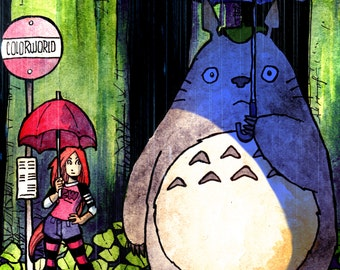 Totoro and Wendy