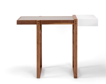 Metafly Console Table - Walnut