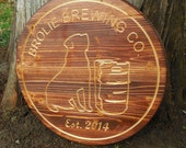 Beer Sign Unique Gifts for Men 1st 2nd Anniversary Gift For Man Husband Custom Bar Sign Personalized Beer Bar Sign Anniversary Gifts for Men