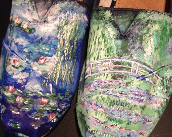 Monet Hand Painted Toms