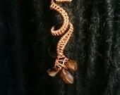Dragon claw Dreadlock cuff.