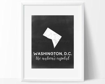 Washington, D.C. Printable