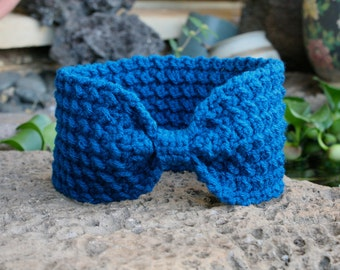 Bow Tie Head Wrap / Ear Warmer
