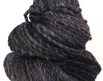Handspun Yarn handdyed Merino wool & silk