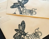 Atlas Letter Co. Death Head Moth Envelopes