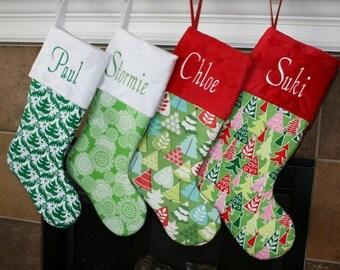 Christmas Stockings Personalized Christmas Stocking family Christmas Stockings