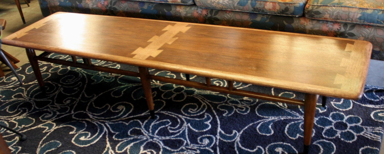Remarkable Mid Century Lane Acclaim Long 70 Inch Coffee Table Haute Juice Caraccident5 Cool Chair Designs And Ideas Caraccident5Info