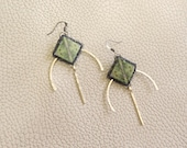 Fjord Viking Pin Earrings - Norse Collection - by Loschy Designs Loschy