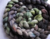 hand-dyed merino roving 4 oz. - MOORS