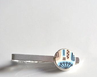 NEW Recycled China Tie Clip - Temporama