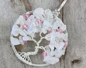 CUSTOM - Cherry Blossom Tree of Life Pendant