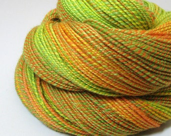 Handspun Yarn - Citrus Splash - 250 Yards