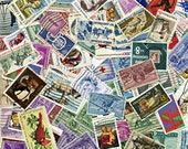 Lot US Postage Stamps Lot (100) Colorful Vintage Antique Early Usa Postal MORE AVAlLABLE 1165