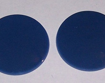 Blue Goggle Lenses- Pair - by darkwear clothing