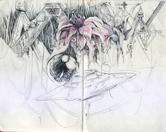 Light & Levitation  // Faerie / Fantasy Art Print