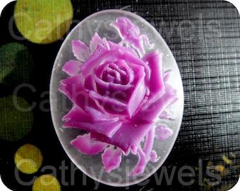 Lilac Rose Cameo