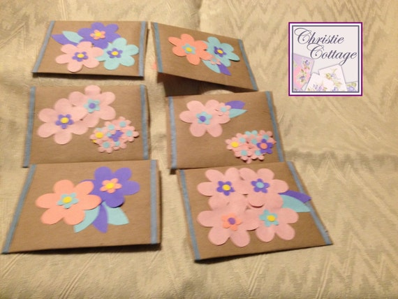 Handmade Gift Card Holders, Envelopes Set of 6