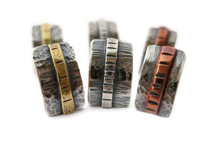 Sterling Silver Bar Post Earrings
