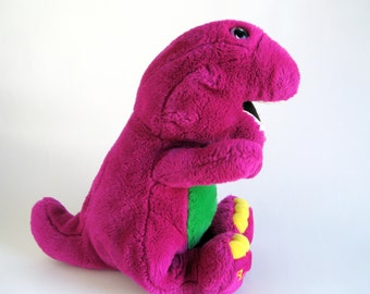 Barney Dinosaur Knitting Pattern : Items similar to 4xvintage PETER RABBIT and Hunna Munca sewing patterns (2 ...