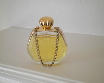 Vintage Avon Glass Petite Purse Cologne Bottle / Decanter with Lid, Perfume & Original Box, Circa 1970s, Vintage Glass Bottle Home Decor