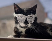 Kitty West Stunna Shades /Shutter Shades for Cats