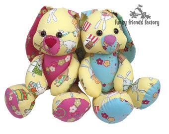 EASTER BUNNY Toy Sewing Pattern PDF