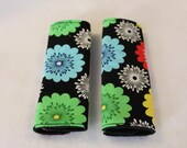 Car Seat Straps Flowers Reversable Free Shipping