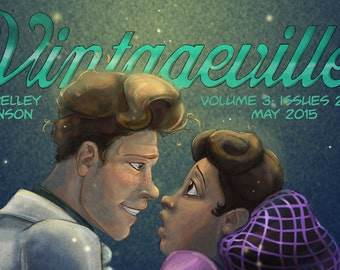 Vintageville Volume 3 Black and White indie comic book