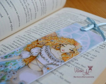 Fairy BOOKMARK by villemoart - Daisies
